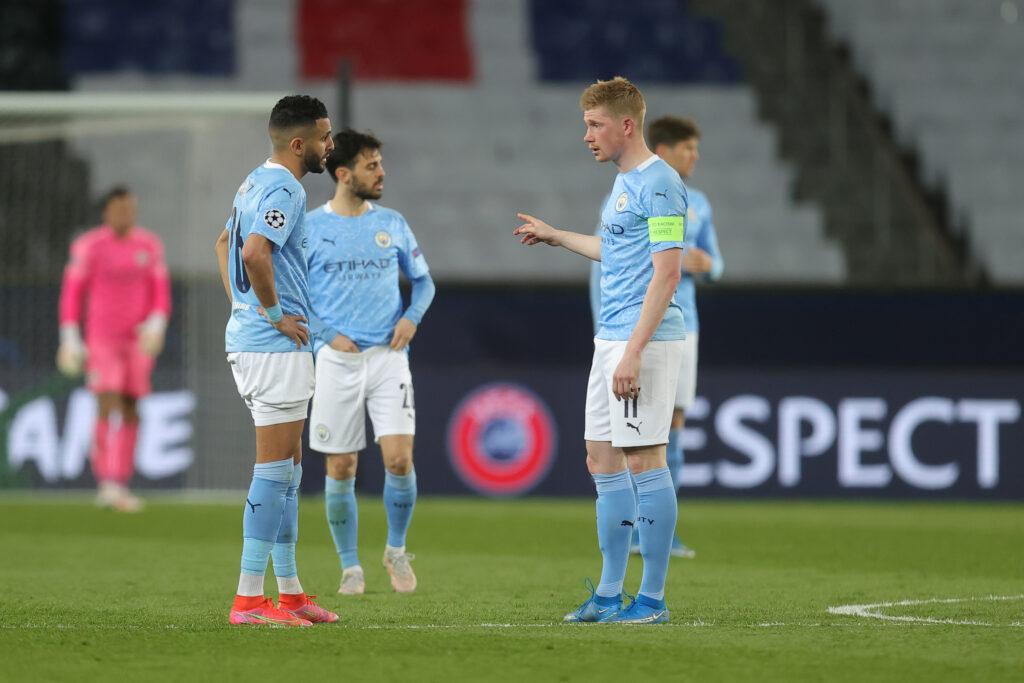 Jogadores do Manchester City que marcaram no jogo