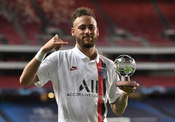 Neymar lidera artilharia de brasileiros em liga dos campões