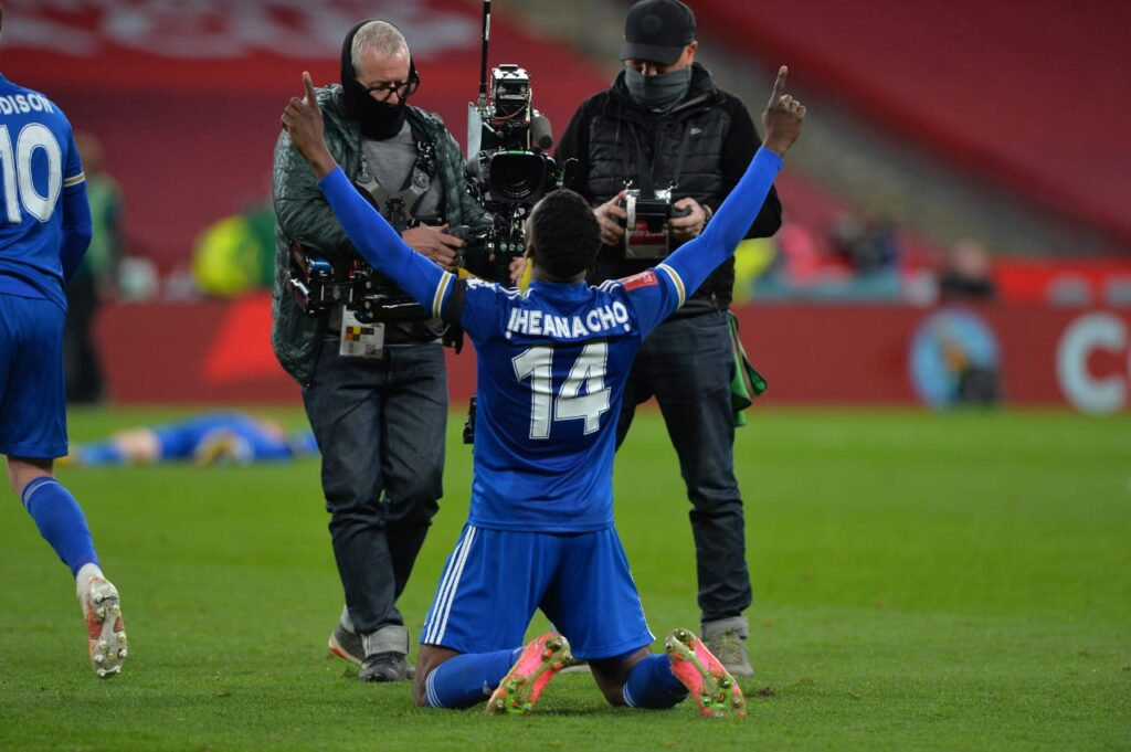 Iheanacho garantiu o Leicester na final da Copa da Inglaterra