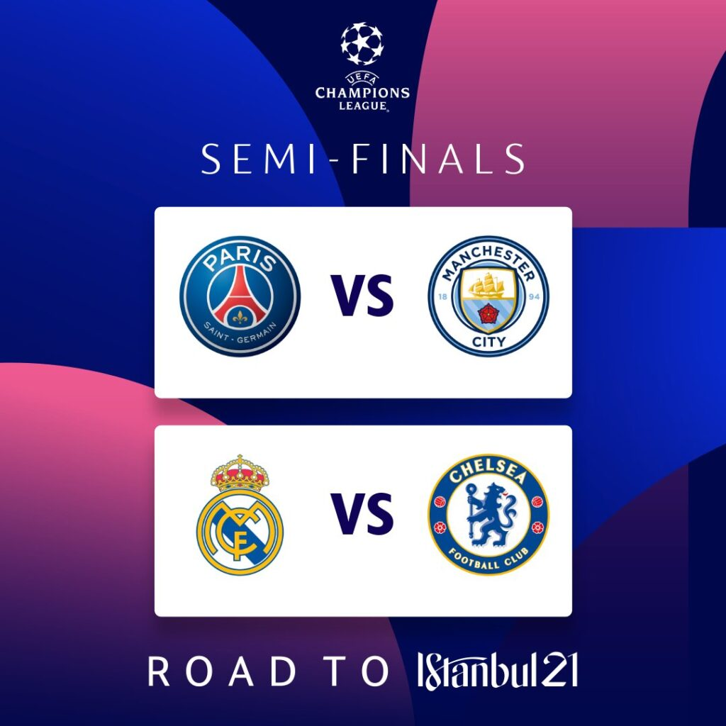 Semifinais da Champions League