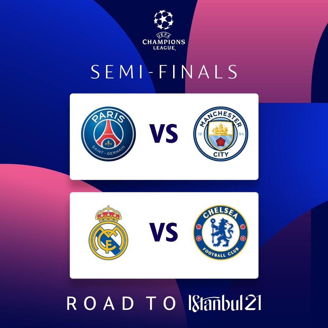 Manchester City e Chelsea: Veja como cada time inglês reagiu após a primeira rodada da semifinal da Champions