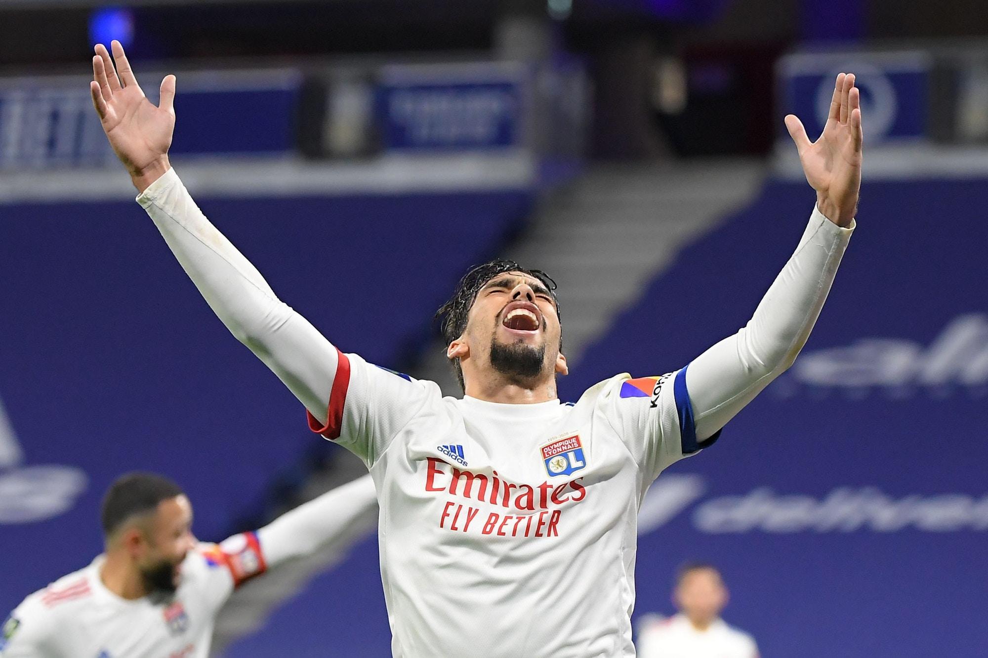 Lucas Paquetá é a esperança do Lyon para sequência da Ligue 1
