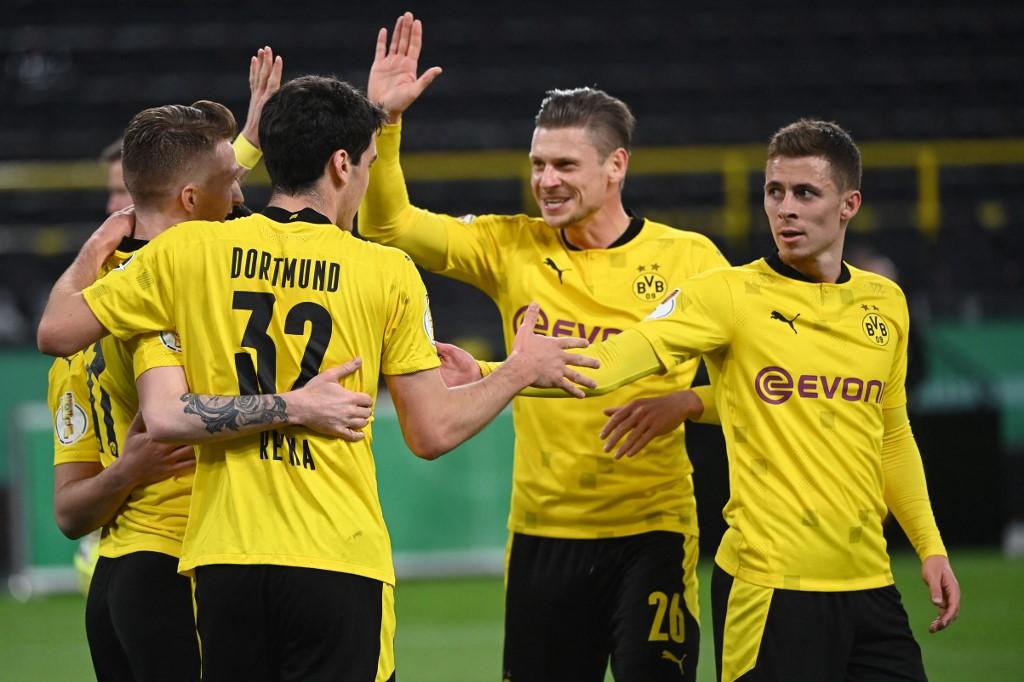 Dortmund goleia Holstein Kiel e está na final da Copa da Alemanha