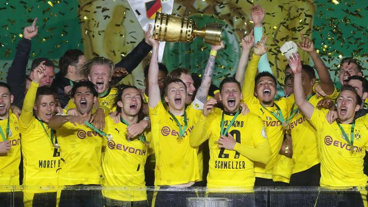 Borussia Dortmund vence Leipzig e conquista titulo da copa da Alemanha
