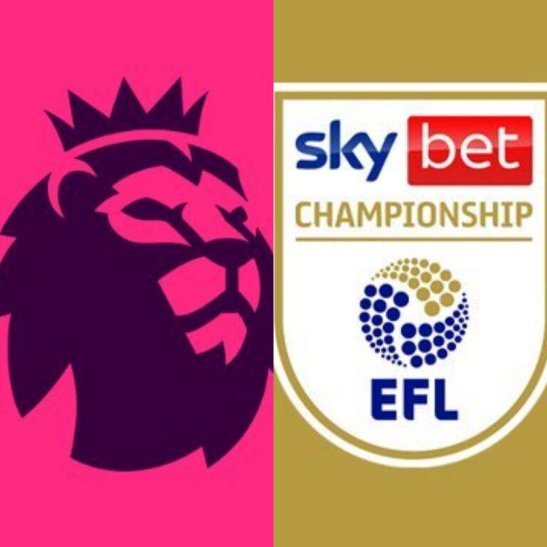 Premier League e Championship: Quem subiu e quem caiu